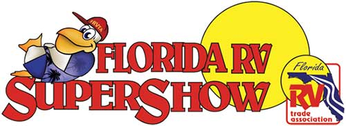 This is the 2018 Florida RV Supershow logo
