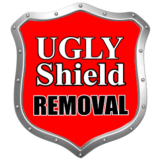 ugly shield removal